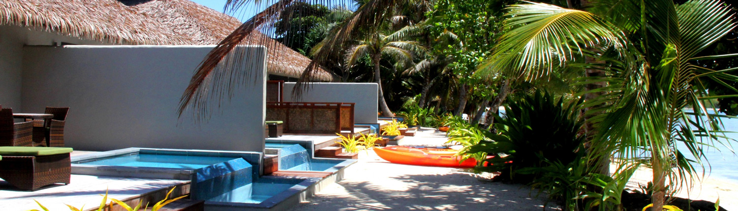 Nautilus Resort Luxury Villas Cook Islands - Beachfront Villas
