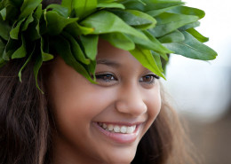 Nautilus Resort Luxury Villas Cook Islands - Girl With Head Lei