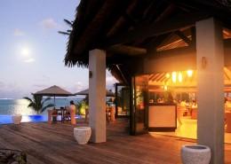 Nautilus Resort Luxury Villas Cook Islands - Patio Dining