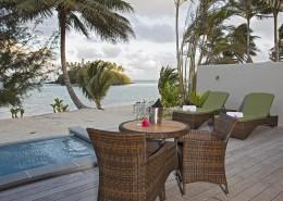 Nautilus Resort Luxury Villas Cook Islands - Plunge Pool