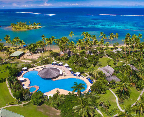 Naviti Resort Fiji - Aerial View