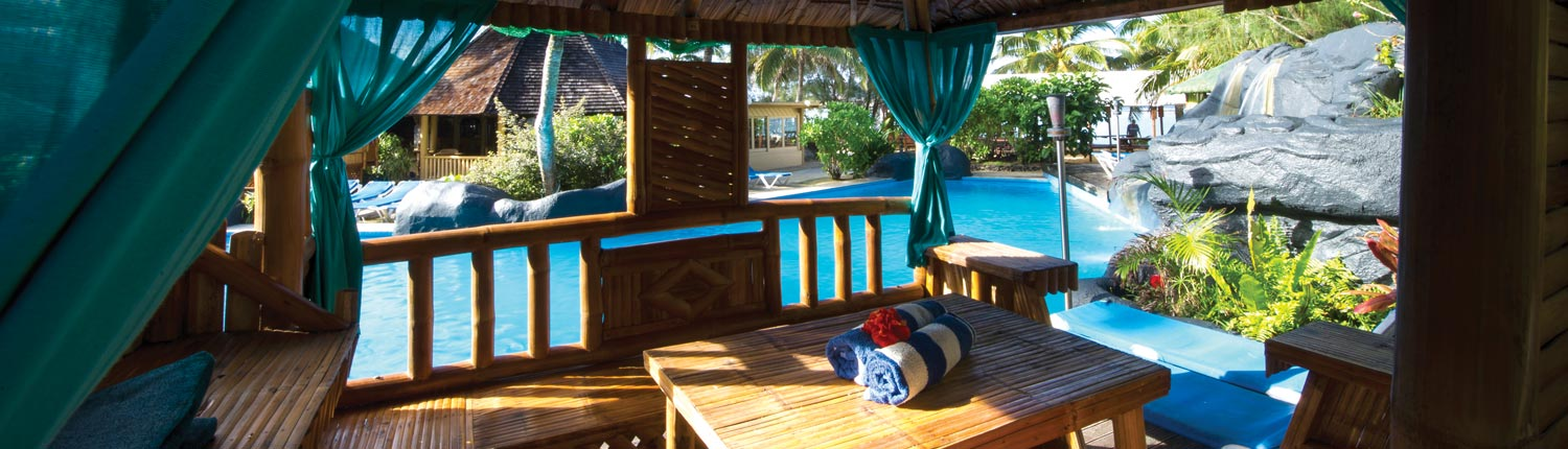 The Rarotongan Beach Resort & Spa Cook Islands - Poolside Gazebo