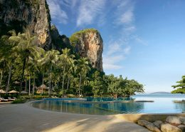 Rayavadee Krabi, Thailand - Pool Views