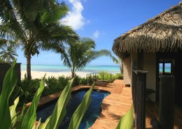 Sea Change Villas Cook Islands - Beachfront Pool