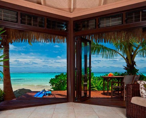 Sea Change Villas Cook Islands - Beachfront Villa