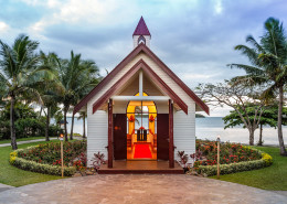 Sofitel Resort & Spa Fiji - Wedding Chapel