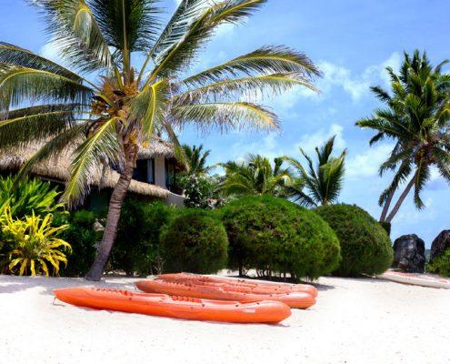 Te Manava Luxury Villas & Spa, Cook Islands - Beachfront