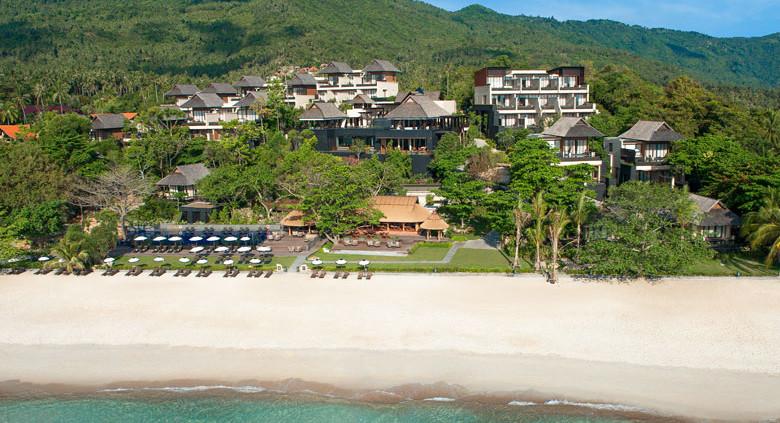Vana Belle Koh Samui Thailand - Aerial View