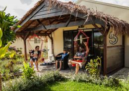Aquana Beach Resort, Vanuatu - Beachfront Bungalow