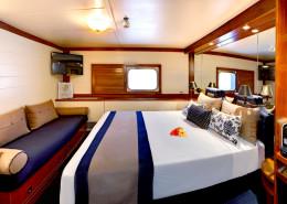 Blue Lagoon Cruises Fiji - Cabin Interior