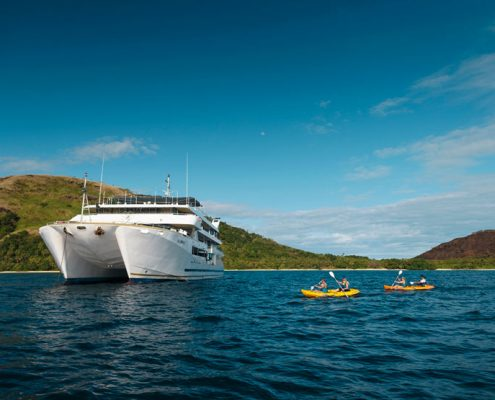 Blue Lagoon Cruises Fiji - Kayaking adventures