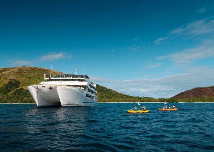 Blue Lagoon Cruises Fiji - Kayaking adventures