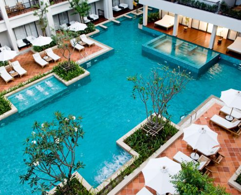 Banthai Beach Resort & Spa, Thailand - Resort Pool