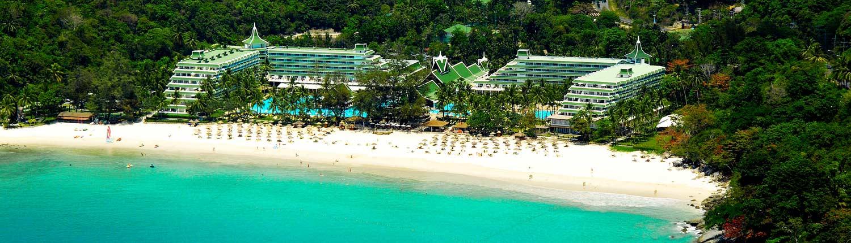 Le Meridien Phuket Beach Resort Thailand - Aerial View