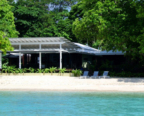 Moyyan House By The Sea Vanuatu - Beachfront Restaurant