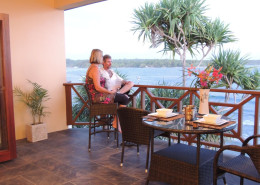 Nasama Resort, Vanuatu - Balcony Views