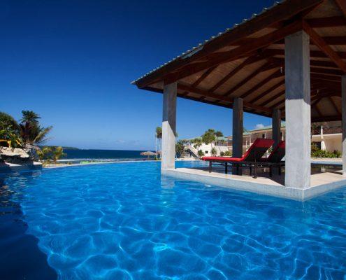 Nasama Resort, Vanuatu - Pool with view