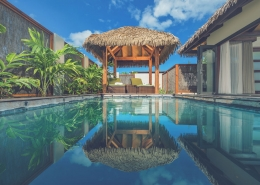 Nautilus Resort Luxury Villas Cook Islands - Villa Pool