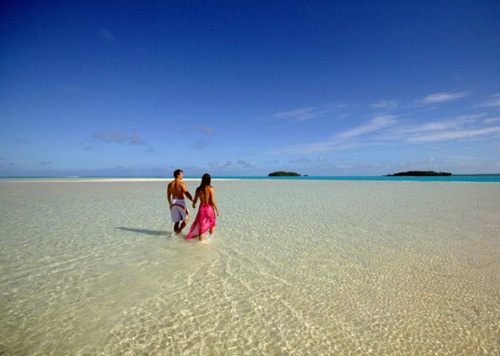 Pacific Resort Aitutaki, Cook Islands - One Foot Island Walk