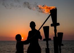 Radisson Blu Resort, Fiji - Flame Lighting