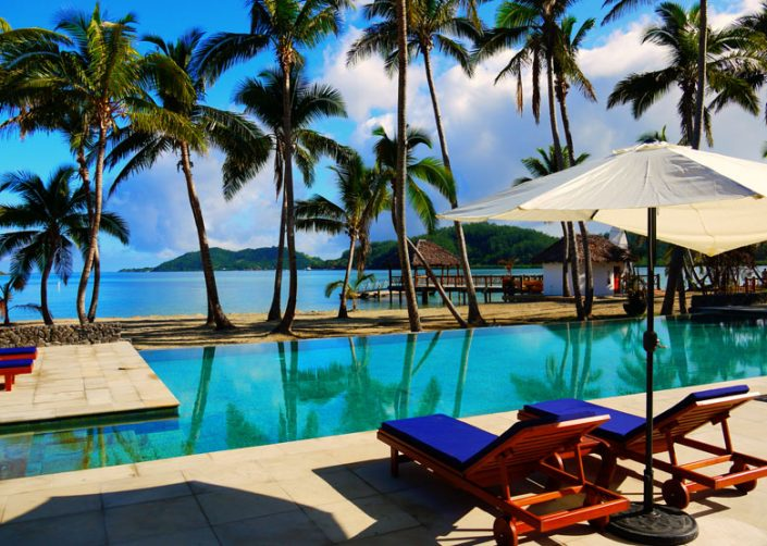 Tropica Island Resort, Fiji - Resort Pool