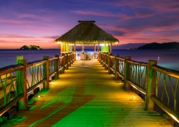 Tropica Island Resort Fiji - Romantic Private Jetty Dinner