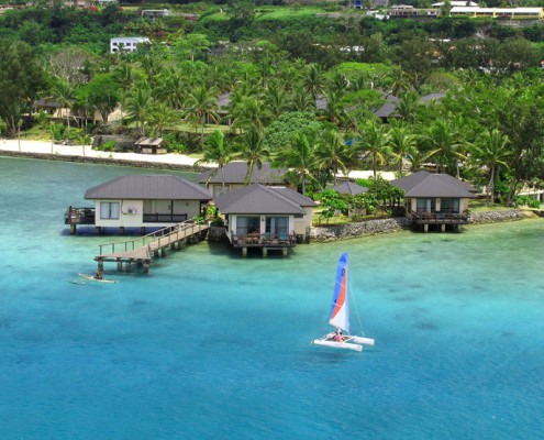 Warwick Le Lagon Resort & Spa Vanuatu - Overwater Suite