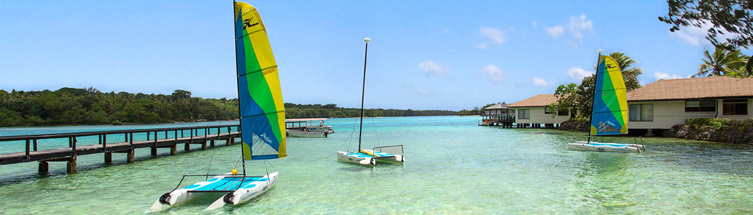 Warwick LeLagon Resort, Vanuatu - Water Sports