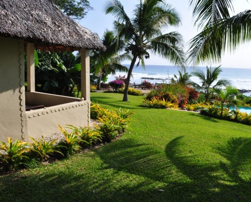 White Grass Ocean Resort Vanuatu - Ocean View Bure