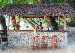 Aore Island Resort, Vanuatu - Beach Bar