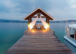 Aore Island Resort, Vanuatu - Pier