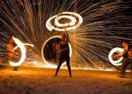 Aquana Beach Resort Vanuatu - Fire Dancing