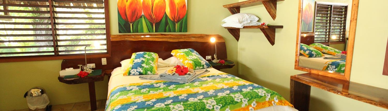Bokissa Private Island Resort Vanuatu - Bure Interior