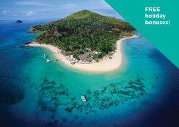 Castaway Island Fiji - Free Holiday Bonuses - Pass to Happiness Deal
