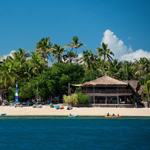 Castaway Island, Fiji - Resort View