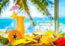 Crystal Blue Lagoon Luxury Villas Cook Islands - Local Fruits