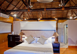 Fiji Hideaway Resort & Spa - Honeymoon Bure Interior
