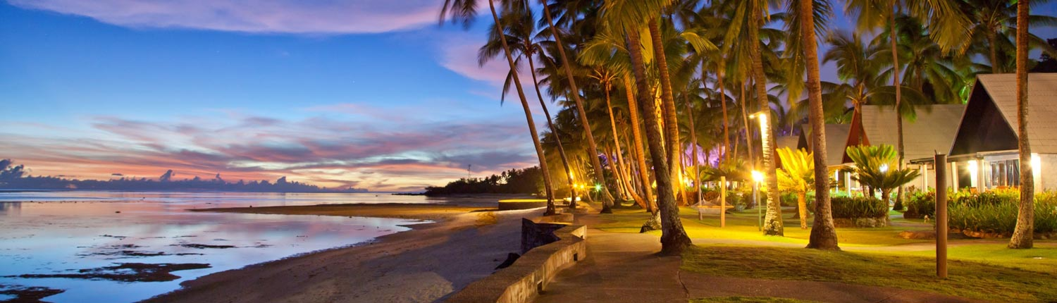 Fiji Hideaway Resort & Spa - Sunset