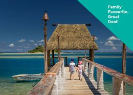 Malolo Island Fiji - Kids on the Jetty - Family Holiday Package Deal