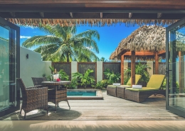 Nautilus Resort Luxury Villas Cook Islands - Villa Exterior