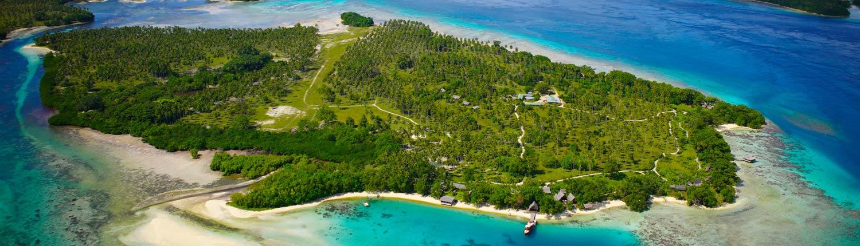 Ratua Island Resort & Spa, Vanuatu - Aerial View