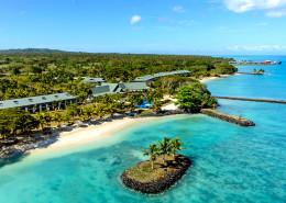 Sheraton Samoa Beach Resort, Samoa - Aerial View