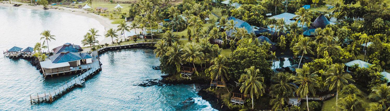 Sinalei Reef Resort & Spa Samoa - Aerial View