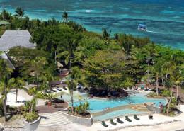 Treasure Island Resort, Fiji - Aerial View