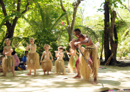 Treasure Island Fiji - Fiji Meke Warrior Dance - Kids Club