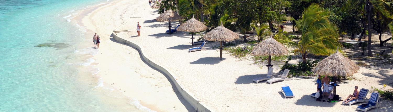 Treasure Island Resort, Fiji - Sandy Beach