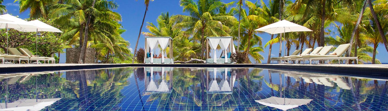 Vomo Island Resort Fiji - Poolside