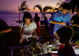Captain Cook Cruises, Fiji - Island Lovo Buffet