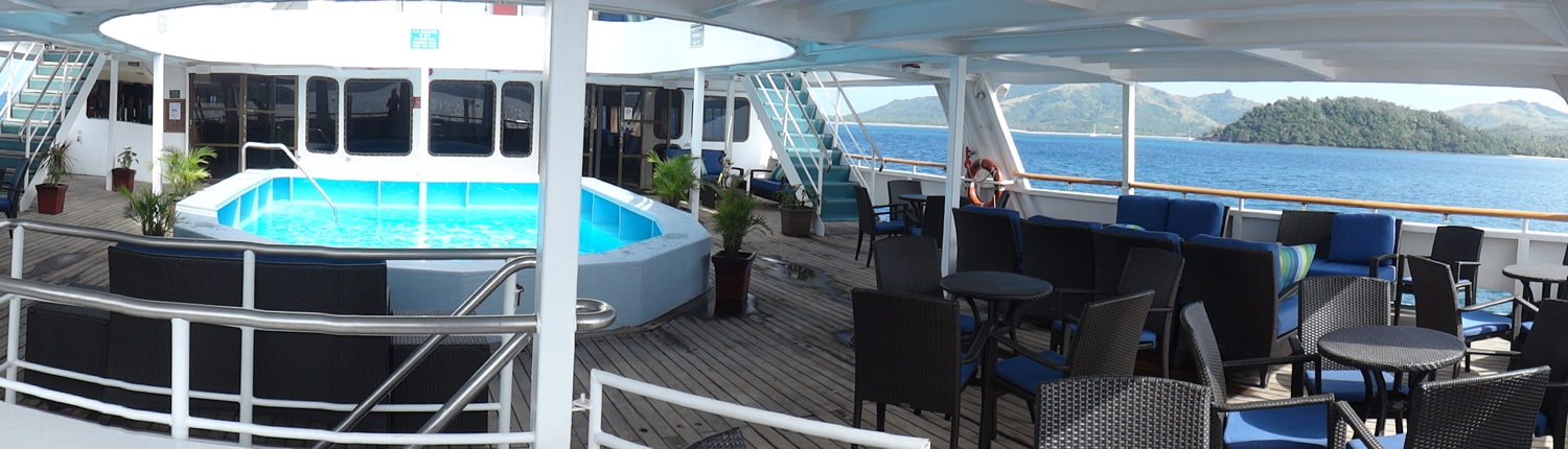 Captain Cook Cruises, Fiji - Pool Deck