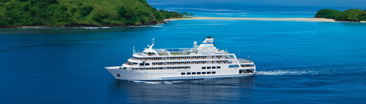 Captain Cook Cruises, Fiji - Reef Endeavour